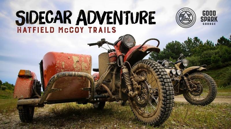 Sidecar Adventure on the Hatfield-McCoy Trails