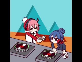 Yuru Camp x Rhythm Tengoku