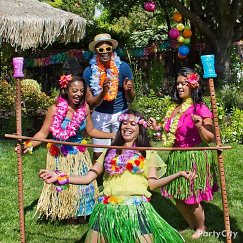 всем поздравление в стиле гавайской вечеринки привораживать