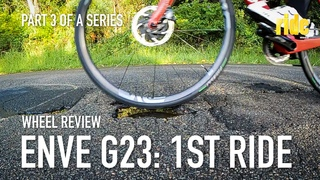 ENVE G23 wheelset review – 1st ride, early impressions: 36psi, tubeless tyres. Yeah, on a road bike!