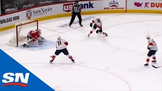Kevin Lankinen Shuts The Door On Panthers' 3-On-0 Scoring Chance
