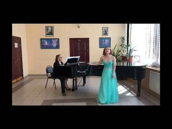 №127 Госсен Алёна Ария Дуни из оперы Морозко
