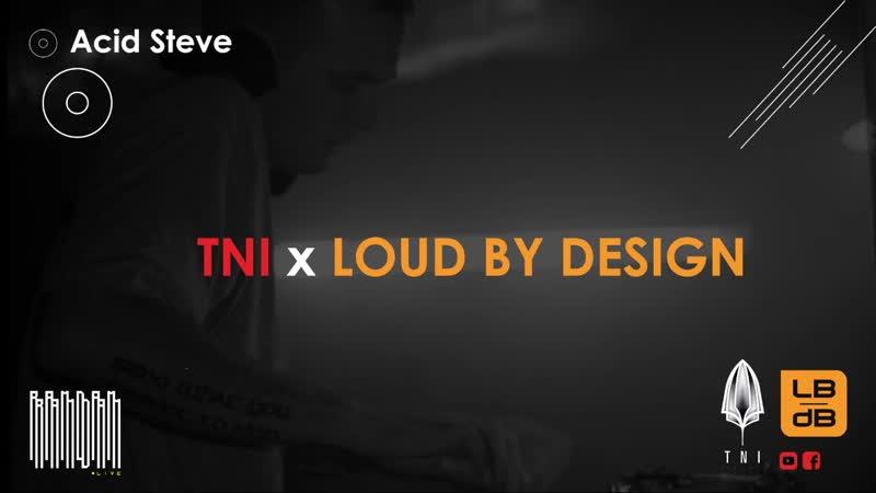 Acid Steve - Pounding Warehouse Showcase - Ramdam.live TNI Bookings Loud By Design Booking