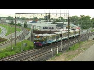 ER2-1293/1294 between Tallinn main and Ülemiste/ЭР2-1293/1294 на перегоне Таллин-Юлемисте