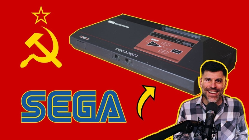 The genuine Sega Master System made for the USSR