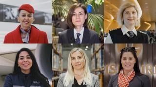 8 Mart Dünya Kadınlar Günü Kutlu Olsun! - Türk Hava Yolları