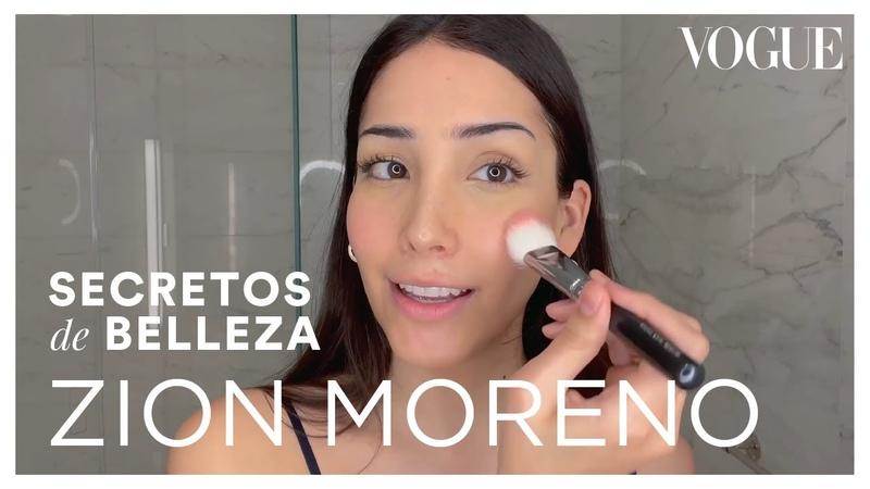 Zión Moreno Luna La en Gossip Girl muestra su amor por los masajes faciales Secretos de Belleza