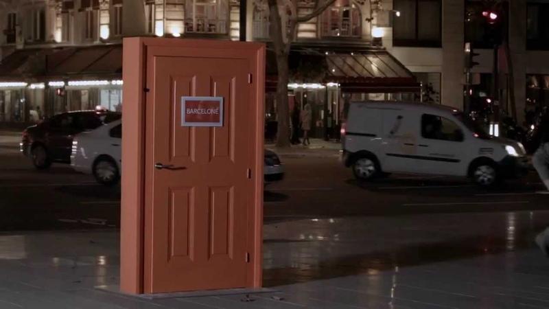 Волшебная дверь в другие города