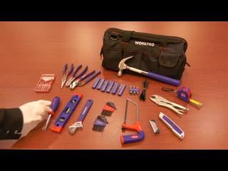 Домашний набор инструментов в сумке