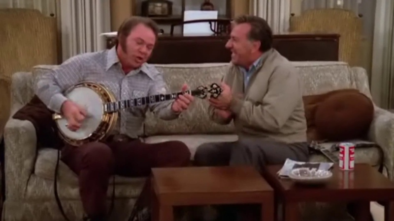 MOUNTAIN DEW (Roy Clark Jack Klugman) ~ The Odd Couple 1975