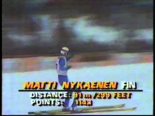 1984 Winter Olympics - 70 Meter Ski Jump - Part 2