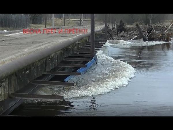 Новости паводка Мост Сруб Мастерская Сарайка Судоверфь Коми край Ukhta