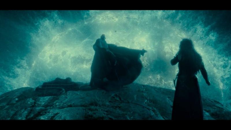 Битва за Хогвартс часть 1 Гарри Поттер и Дары Смерти часть 2
