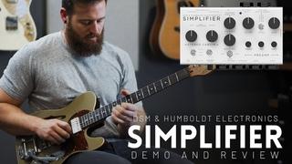 DSM & Humboldt SIMPLIFIER - Full review and demo // The first zero watt all analog amplifier