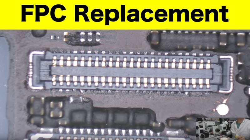 IPhone 6 FPC Connector replacement