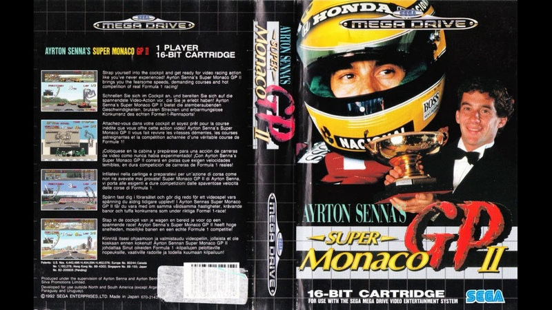 Old School {SEGA G, MD, CD} Ayrton Senna's Super Monaco GP II ! full ost soundtrack