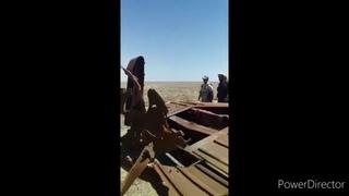 Момент подрыва российского генерала в Сирии