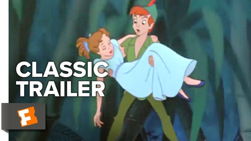 Peter Pan (1953) Trailer 1 | Movieclips Classic Trailers