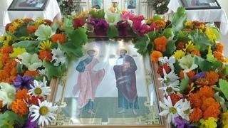 Свято-Преображенский храм с. Коньково  Понедельник Седмица 4-я по Пят. ап. Петра и Павла