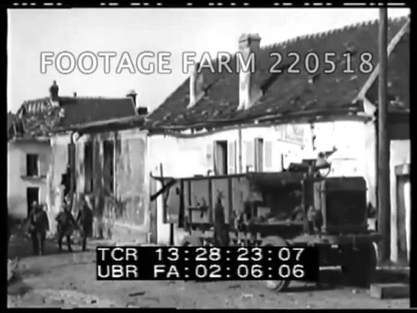 WW1 The Aisne Marne Operations 220518-11 | Footage Farm