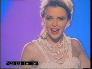 Kylie Minogue + London Boys London Nights + Requiem PERF (Ghost Train, 8 Jul 89)