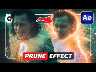 How to PRUNE EFFECT From LOKI (After Effects Tutorial)
