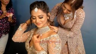 Helly Shah Bridal Makeover By Neha Mahajan & Photo Shoot