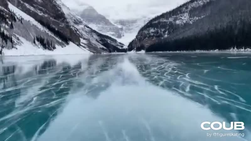 Lake Louise Skating November 2020