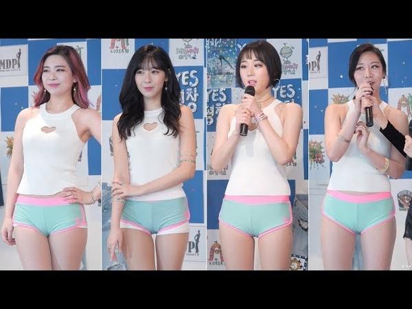 180317 레드민트 RedMint 멤버소개 포토타임 충무아트쇼 걸크러쉬TV 직캠 fancam by zam