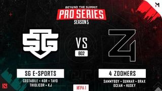 SG e-sports vs 4 Zoomers (Игра 1) BO2 | BTS Pro Series Season 5: Americas