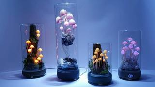 декоративные светильники/ночники с сенсорным управлением. автор Илья Шереметов