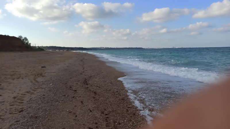 Любимовка Море Утром