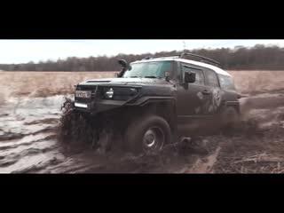 Мажоры vs военная техника в грязевой пашне! toyota, mercedes, jeep wrangler , nissan против газ, уаз, урал!